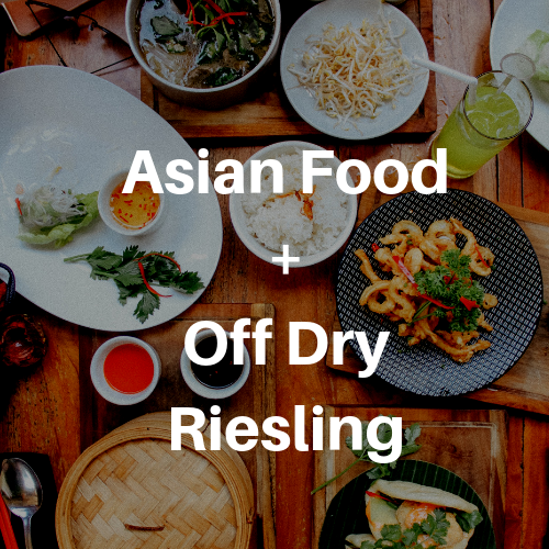 best wine for asian dishes